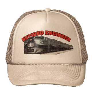 Illinois Central Retired Engineer Trucker Hat
