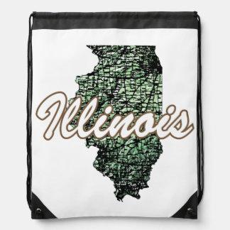 Illinois Drawstring Bag