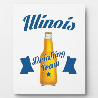 Illinois Drinking team Plaque