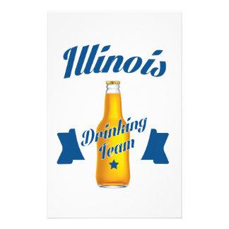 Illinois Drinking team Stationery