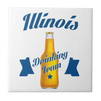 Illinois Drinking team Tile