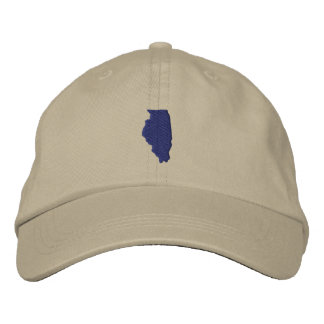 Illinois Embroidered Hat