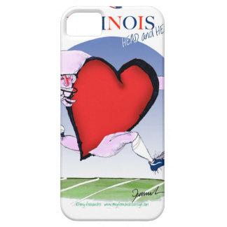 illinois head heart, tony fernandes iPhone 5 cases