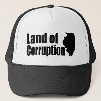 Illinois: Land of Corruption Trucker Hat