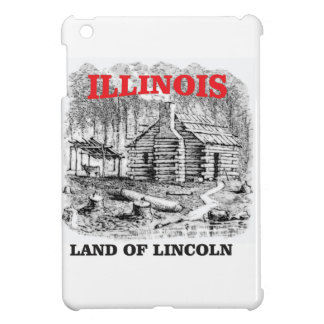 Illinois land of Lincoln Cover For The iPad Mini