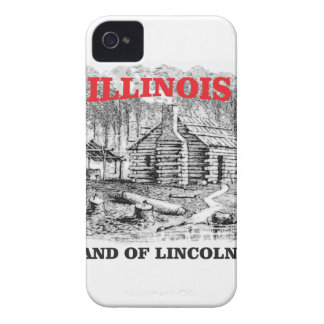 Illinois land of Lincoln iPhone 4 Cover