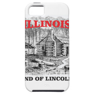 Illinois land of Lincoln iPhone 5 Cover