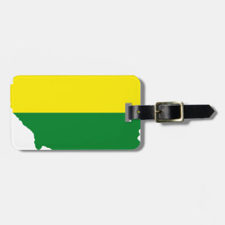 Illinois LGBT Flag Map Luggage Tag