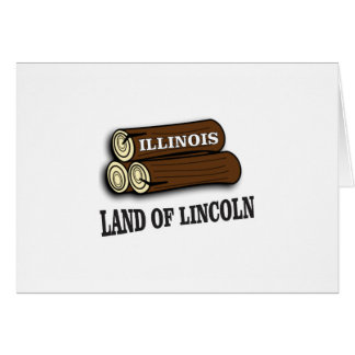 Illinois logs of Lincoln Card