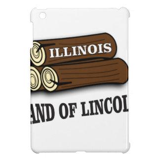 Illinois logs of Lincoln Case For The iPad Mini