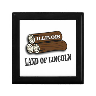 Illinois logs of Lincoln Gift Box