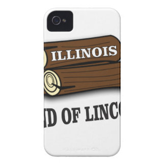 Illinois logs of Lincoln iPhone 4 Case-Mate Case