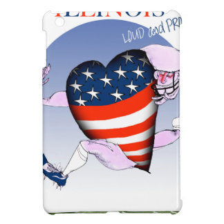 illinois loud and proud, tony fernandes cover for the iPad mini