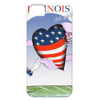 illinois loud and proud, tony fernandes iPhone 5 cover