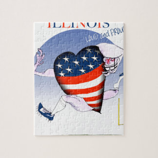 illinois loud and proud, tony fernandes jigsaw puzzle