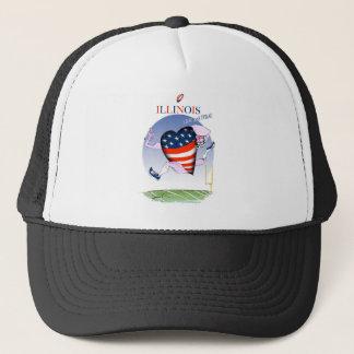illinois loud and proud, tony fernandes trucker hat