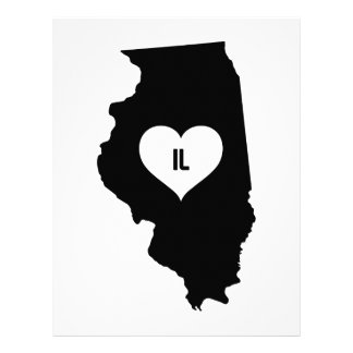 Illinois Love Letterhead