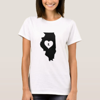 Illinois Love T-Shirt