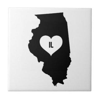 Illinois Love Tile