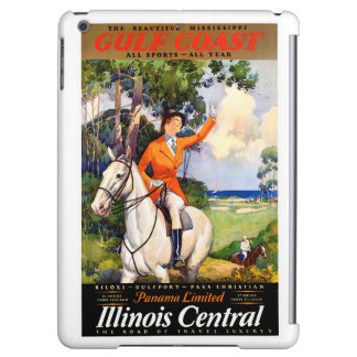 Illinois Mississippi Restored Vintage Poster iPad Air Covers