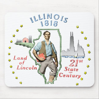 Illinois Mouse Pad