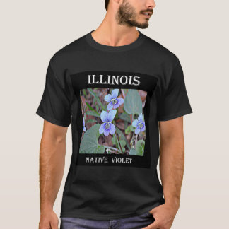 Illinois Native Violet T-Shirt