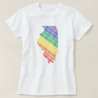 Illinois Rainbow State T-Shirt