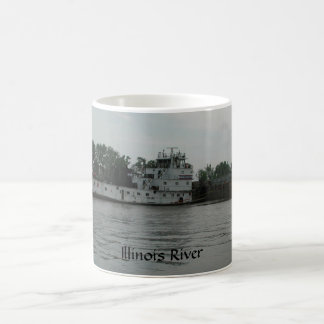 Illinois River Towboat LJ Sullivan Mug by Janz