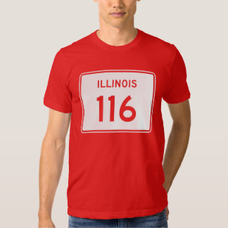 Illinois Route 116 Shirt