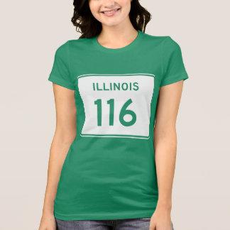 Illinois Route 116 T-Shirt