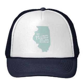 Illinois State Motto Slogan Trucker Hat
