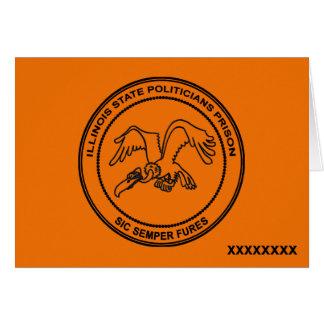 Illinois State Politicians Prison Card
