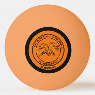 Illinois State Politicians Prison Ping Pong Ball