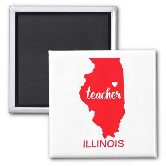 Illinois Teacher Magnet