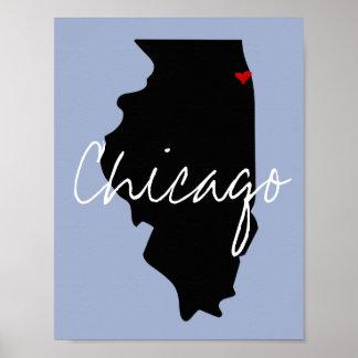 Illinois Town Poster