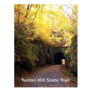 Illinois Tunnel Hill State Trail Bike Path Postcard