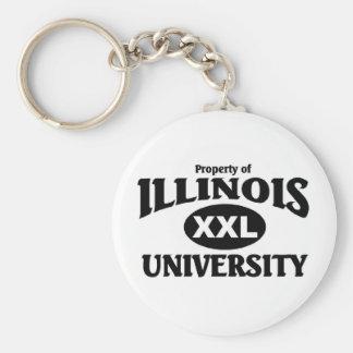 Illinois University Keychain