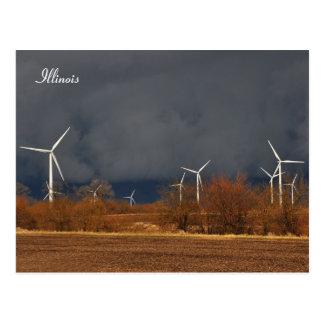 Illinois Windmills Post Cards