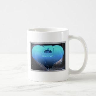 Illionis à la maison mug