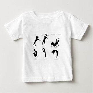Illness Stick Figures Set Baby T-Shirt