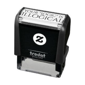 Illogical Logic Self-inking Stamp