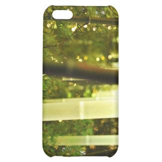 Illuminated Bamboo. Tokyo, Japan. iPhone 5C Covers