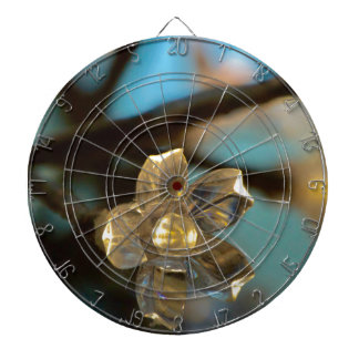 Illuminated Cherry Blossom Dartboard