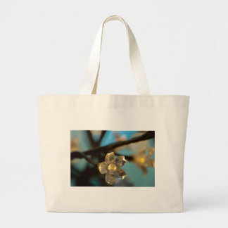Illuminated Cherry Blossom Large Tote Bag