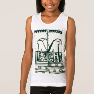 Illuminated M initial Day of Giving Tank Top