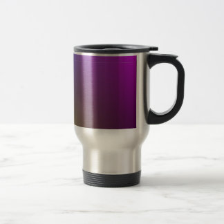 Illuminated Mauve/ green>Patterned Travel  Mug. Travel Mug