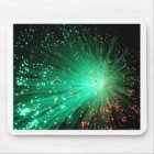 Illuminated Optical Fibres Mouse Pad