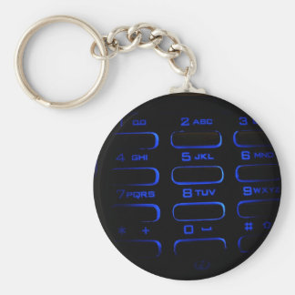 illuminated phone keyboard keychain