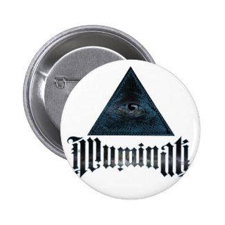 Illuminati 2 Inch Round Button