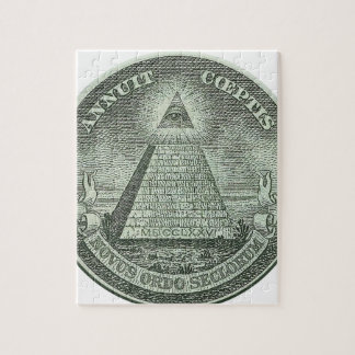Illuminati - All seeing eye Jigsaw Puzzle